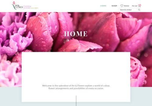 لقطة شاشة لموقع Flowers in Dubai بتاريخ 27/03/2021 بواسطة دليل مواقع تبادل بالمجان