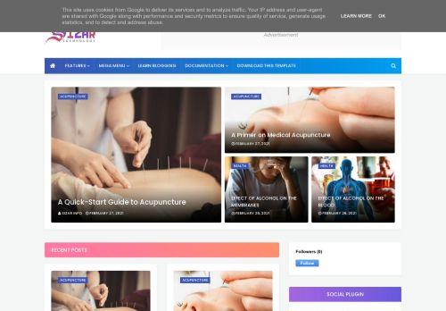 لقطة شاشة لموقع SIZAR-INFO بتاريخ 27/03/2021 بواسطة دليل مواقع تبادل بالمجان