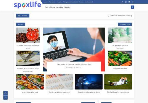 لقطة شاشة لموقع spoxlife بتاريخ 09/06/2021 بواسطة دليل مواقع تبادل بالمجان