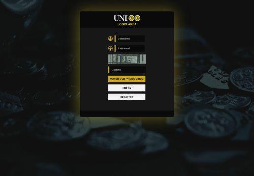 لقطة شاشة لموقع unicc - we work for your profit بتاريخ 18/06/2021 بواسطة دليل مواقع تبادل بالمجان