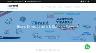 لقطة شاشة لموقع Brand Development Services بتاريخ 21/09/2019 بواسطة دليل مواقع تبادل بالمجان