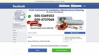 لقطة شاشة لموقع Air Conditioning Maintenance & Ducting Works بتاريخ 21/09/2019 بواسطة دليل مواقع تبادل بالمجان