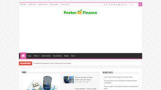 لقطة شاشة لموقع Peeker Finance بتاريخ 07/11/2019 بواسطة دليل مواقع تبادل بالمجان