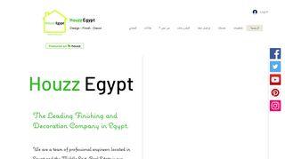 لقطة شاشة لموقع هاوز مصر Houzz Egypt بتاريخ 13/11/2019 بواسطة دليل مواقع تبادل بالمجان
