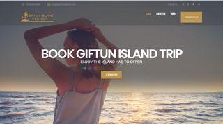 لقطة شاشة لموقع جزيرة الجفتون Giftun Island بتاريخ 31/12/2019 بواسطة دليل مواقع تبادل بالمجان