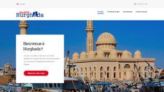 لقطة شاشة لموقع Guide De Hurghada بتاريخ 07/01/2020 بواسطة دليل مواقع تبادل بالمجان