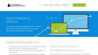 لقطة شاشة لموقع digital marketing بتاريخ 25/01/2020 بواسطة دليل مواقع تبادل بالمجان