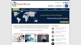 لقطة شاشة لموقع شركة نظم بلس لتقنية المعلومات بتاريخ 09/03/2020 بواسطة دليل مواقع تبادل بالمجان
