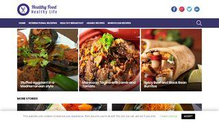 لقطة شاشة لموقع food4lifehealthy بتاريخ 13/03/2020 بواسطة دليل مواقع تبادل بالمجان