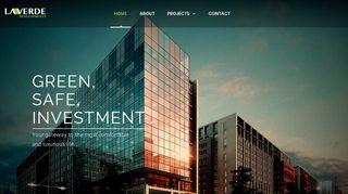 لقطة شاشة لموقع شركة لافيردي للاستثمار العقاري و التطوير العمراني بتاريخ 15/03/2020 بواسطة دليل مواقع تبادل بالمجان