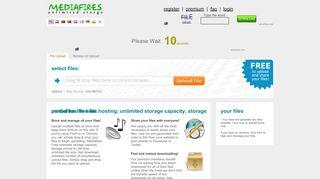 لقطة شاشة لموقع حراق الميديا بتاريخ 23/04/2020 بواسطة دليل مواقع تبادل بالمجان