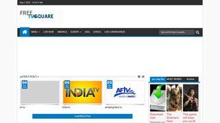 لقطة شاشة لموقع tv4square بتاريخ 07/05/2020 بواسطة دليل مواقع تبادل بالمجان