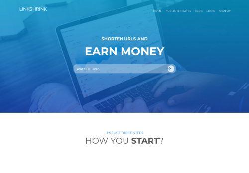 لقطة شاشة لموقع Linkshrink.ca بتاريخ 08/08/2020 بواسطة دليل مواقع تبادل بالمجان