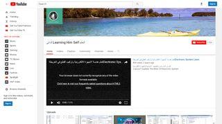 لقطة شاشة لموقع التعلم الذاتي learning  Him self بتاريخ 22/09/2019 بواسطة دليل مواقع تبادل بالمجان