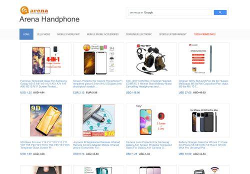 لقطة شاشة لموقع arena handphone بتاريخ 02/09/2020 بواسطة دليل مواقع تبادل بالمجان