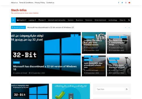 لقطة شاشة لموقع سوفتيك للتقنية بتاريخ 11/09/2020 بواسطة دليل مواقع تبادل بالمجان