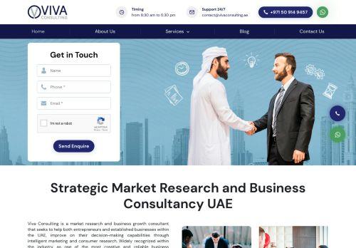 لقطة شاشة لموقع Viva Consulting للاستشارات التجارية بتاريخ 30/09/2020 بواسطة دليل مواقع تبادل بالمجان