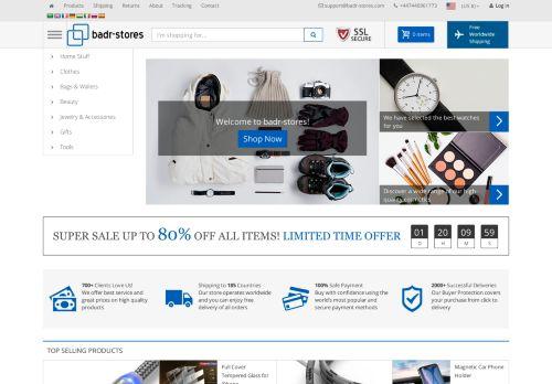 لقطة شاشة لموقع badr-stores بتاريخ 04/10/2020 بواسطة دليل مواقع تبادل بالمجان