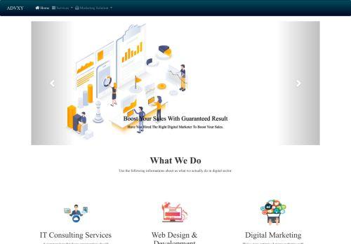 لقطة شاشة لموقع ادفكسي للبرمجة و التسويق الإلكتروني بتاريخ 10/11/2020 بواسطة دليل مواقع تبادل بالمجان